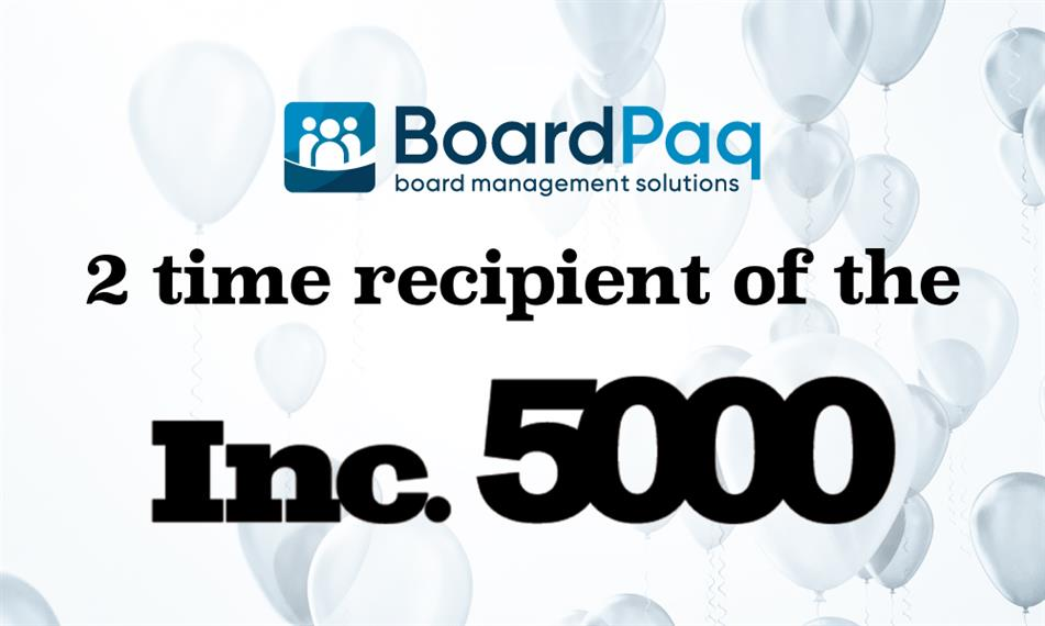 Inc 5000 2-time recipient